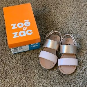 Pink gold & baby pink sandals